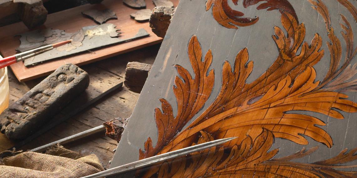 Atelier Henri Desgrippes Restaurateur de meubles anciens © Alexis Lecomte INMA