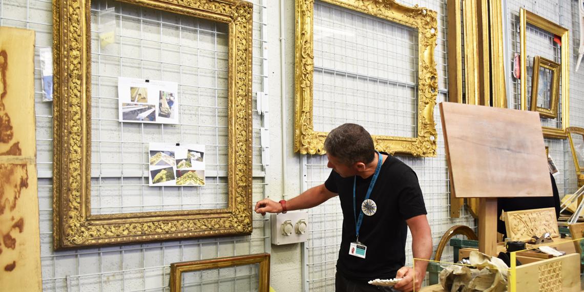 Rendez-vous d'Exception 2019 - Ateliers d'encadrement au Musée du Louvre © INMA