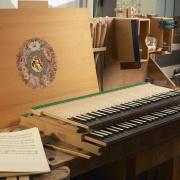 Atelier Reinhard von Nagel Facteur de clavecins © Alexis Lecomte INMA