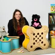 Emeline DA PONTE, OXO, Coffres modulables pour enfant