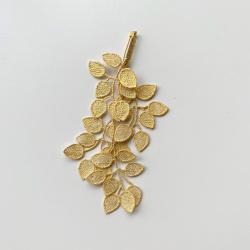 Broche de Coton en laque d'or de la ville de Kanazawa