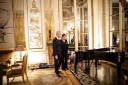 Sylvie Fouanon, restauratrice de pianos Cérémonie de remise des titres de Maître d'art © MC - Denis Allard