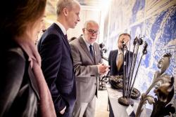 Serge Pascal, releveur repousseur / Cérémonie de remise des titres de Maître d'art © MC - Denis Allard