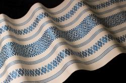 Hakata-ori, Atelier Miki Miyajima, tissage en soie © Photo : Espace Densan