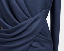 Drapé de veste